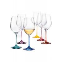 Набор бокалов для вина Bohemia Spectrum b40729-382222 (350мл) 6шт