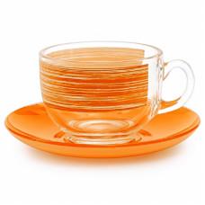 Чайный сервиз Luminarc Brush Mania Orange P8984 (220мл) 12 пр