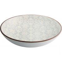 Тарелка суповая Astera Engrave Grey A0440-HP23-SP (20см)