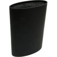 Колода для ножей Vincent VC-6199 Black (11х7,1х22,3 см)