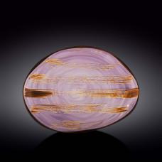 Блюдо камень Wilmax Scratch Lavander WL-668742 / A (33см)