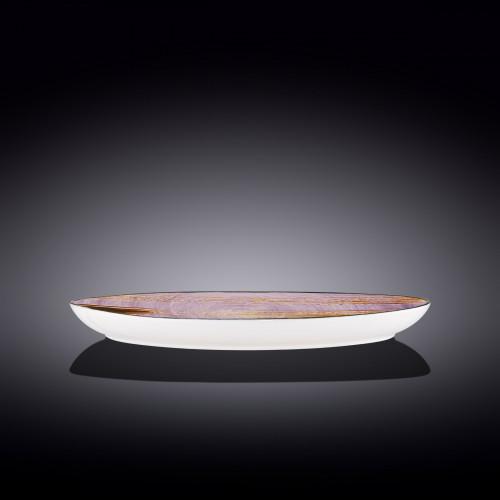 Блюдо овальное глубокое Wilmax Scratch Lavander WL-668740 / A (25х16,5х6см)