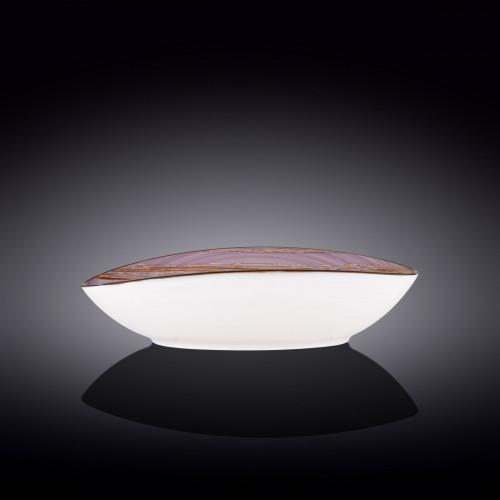Блюдо овальное глубокое Wilmax Scratch Lavander WL-668741 / A (30х19,5х7см)