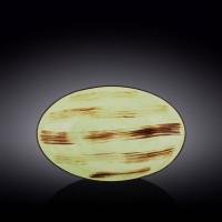 Блюдо овальное глубокое Wilmax Scratch Pistachio WL-668141 / A (30х19,5х7см)