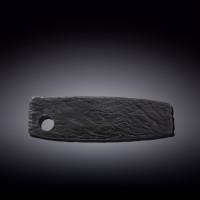 Блюдо для подачи Wilmax Slatestone Black WL-661132 / A (32,5х10см)