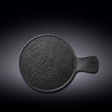 Блюдо для подачи с ручкой Wilmax Slatestone Black WL-661137 / A (30,5х21,5см)