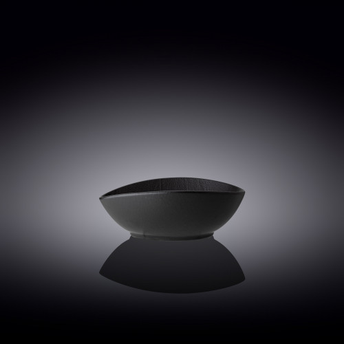 Блюдо овальное глубокое Wilmax Slatestone Black WL-661118 / A (13х10х6см)