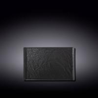 Тарелка прямоугольная Wilmax Slatestone Black WL-661108 / A (19,5х14,5см)