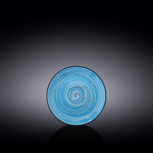 Блюдце Wilmax Spiral Blue WL-669635 / B (14см)