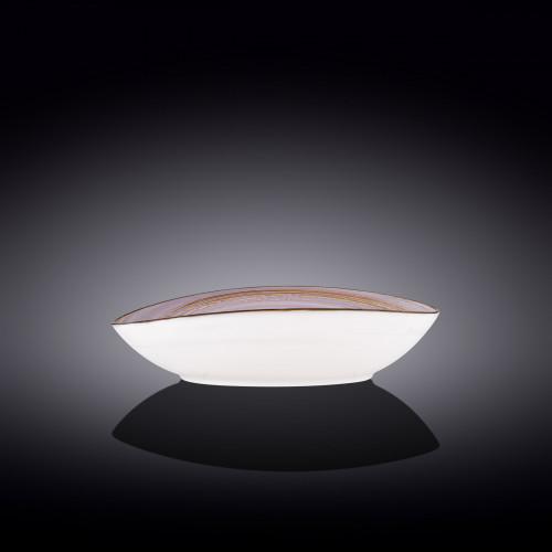 Блюдо овальное глубокое Wilmax Spiral Lavander WL-669740 / A (25х16,5х6см)