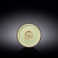 Блюдце Wilmax Spiral Pistachio WL-669136 / B (15см)