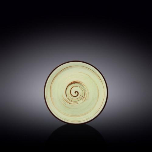 Блюдце Wilmax Spiral Pistachio WL-669135 / B (14см)