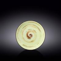 Тарелка десертная Wilmax Spiral Pistachio WL-669112 / A (20,5см)