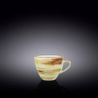 Чашка кофейная Wilmax Spiral Pistachio WL-669134 / A (110мл)
