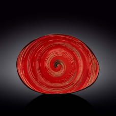Блюдо камень Wilmax Spiral Red WL-669242 / A (33см)