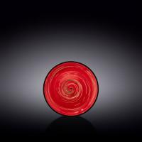 Блюдце Wilmax Spiral Red WL-669236 / B (15см)
