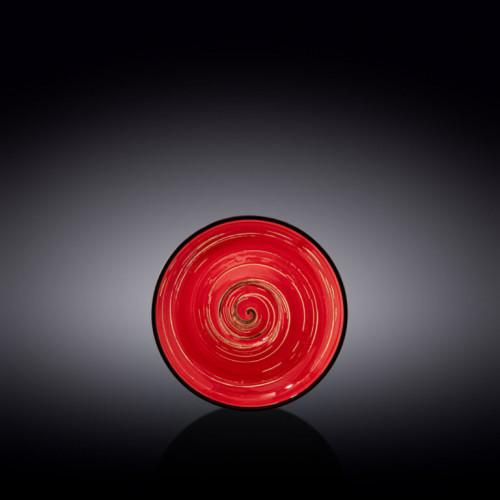 Блюдце Wilmax Spiral Red WL-669234 / B (12см)