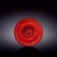 Тарелка глубокая Wilmax Spiral Red WL-669222 / A (d20см/V800мл)