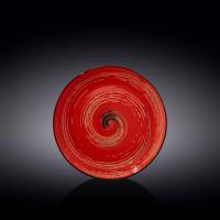 Тарелка десертная Wilmax Spiral Red WL-669212 / A (20,5см)