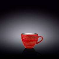 Чашка чайная Wilmax Spiral Red WL-669235 / A (190мл)