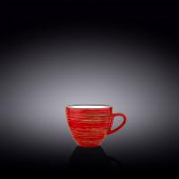 Чашка кофейная Wilmax Spiral Red WL-669234 / A (110мл)