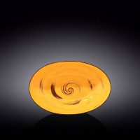 Блюдо овальное глубокое Wilmax Spiral Yellow WL-669440 / A (25х16,5х6см)