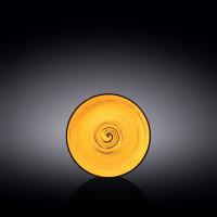 Блюдце Wilmax Spiral Yellow WL-669435 / B (14см)
