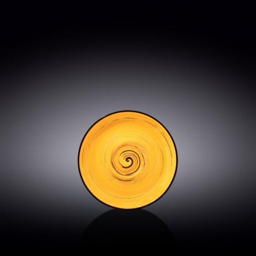 Блюдце Wilmax Spiral Yellow WL-669434 / B (12см)