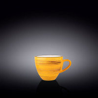Чашка чайная Wilmax Spiral Yellow WL-669435 / A (190мл)