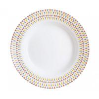 Тарелка глубокая круглая Luminarc Trigone P0721 (22см)