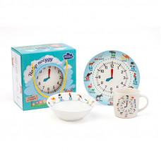 Детский набор для завтрака Milika Amusing Clock M0690-KS-2006 3пр