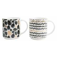 Набор чашек Milika Gold&Black M0521-119-067 (260 мл-2 шт)