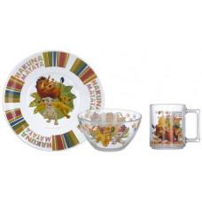 Набор детской посуды ОСЗ Disney Король Лев 18с2055 ДЗ Король Лев (19.6 см/13 см/250 мл) - 3 пр