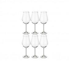 Набор бокалов для вина Bohemia Attimo 6 шт b40807 (500мл)