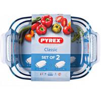 Набор форм для запекания Pyrex Classic 912S969 (39/25 см/35/23 см) - 2 шт