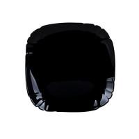 Тарелка десертная квадратная  Luminarc Lotusia Black  P7062 (21 см)