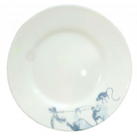Тарелка десертная круглая Luminarc Zao Blue P9436  (19 см)