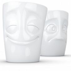 Набор чашек Радостный и Надутые щечки Tassen TASS12801/TU (350 мл/2 шт)