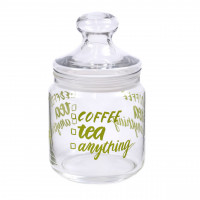 Банка для сыпучих с прозрачной крышкой  Luminarc Coffee Tea P6017  (0,75 л)
