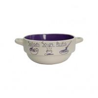 Тарелка глубокая Milika Soup Party Purple М04100-320А (680мл)