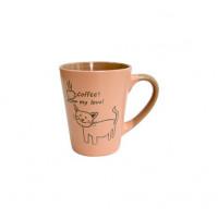Набор кружек Milika Coffee Cat Pink M0420-38022B (320мл)