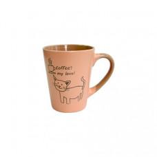 Набор кружек Milika Coffee Cat Pink 6 шт M0420-38022B (320мл)