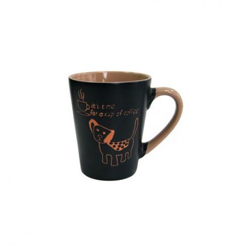 Набор кружек Milika Coffee Dog Azur 6 шт M0420-38022C (320мл)