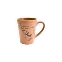 Набор кружек Milika Coffee Dog Pink M0420-38022D (320мл)