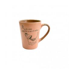 Кружка Milika Coffee Dog Pink M0420-38022D (320мл)
