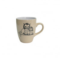 Набор кружек Milika Owl Family Cream M0420-M3 (400мл)