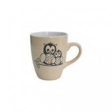 Кружка Milika Owl Family Cream M0420-M3 (400мл)