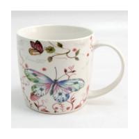 Набор чашек  Milika Butterfly Pink (330мл)