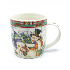 Кружка Milika Snowman Family 0520-S29-4 (350мл)