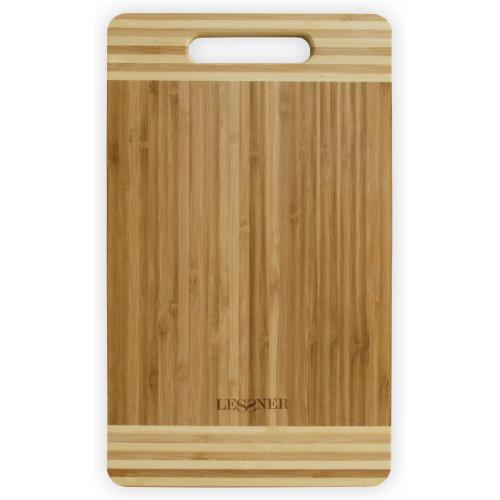 Доска разделочная бамбуковая прямоугольная Lessner 10301-38 (38х25х2см)